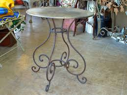 Wrought Iron Bistro Table J Pedersen Home And Garden Gift Decor Bistro Table