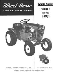 wheelhorse charger 9 owners manual 1 7931 396 documents