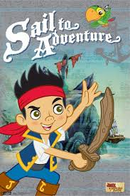 jake u0026 land pirates sail adventure 22x34 poster disney