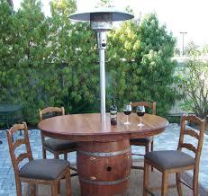 Patio Table Heaters Wine Barrel Affordable Patio Furniture 15 Inspiring Wine Barrel