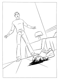 coloring page spiderman 3 coloring pages 12