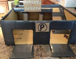 missy inspired matchbox car garage