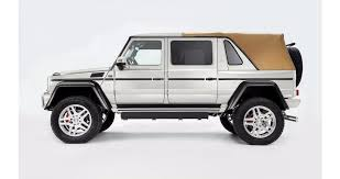 mercedes charity update 2018 mercedes maybach g650 landaulet heading to auction