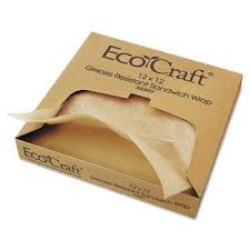 paper wraps bagcraft papercon ecocraft grease resistant paper wrap liner