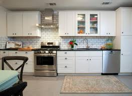 modern white kitchen backsplash modern kitchen with flush light by subway tile outlet zillow