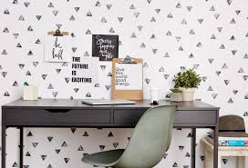 Chasing Paper Removable Wallpaper Stamped Triangle U2013 Chasing Paper