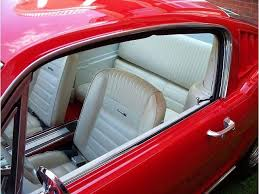 1965 mustang parts 1965 mustang fastback pony upholstery front buckets and rear seat