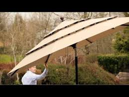 11 Foot Patio Umbrella 11 Market Umbrella Youtube