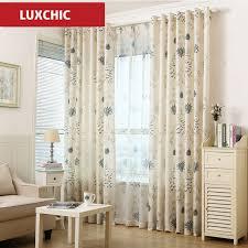 vorhã nge fã r schlafzimmer aliexpress rustic floral gedruckt leinen vorhänge für