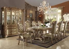 Luxury Dining Table And Chairs Stylish Dining Room Buffet Hutch Rocket Rocket