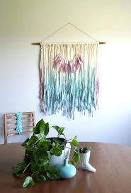 wall ideas diy hanging fabric on walls hanging fabric on dorm hanging fabric on concrete walls fabric wall hanging large girl bedroom decoration banner dip dyed ombre fiber art textile art hanging fabric on walls with