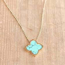 small turquoise pendant necklace images Crystal eternity necklace long silver kelly 39 s treasure jpeg