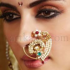 it s pg licious traditional indian jewelry marathi nosering
