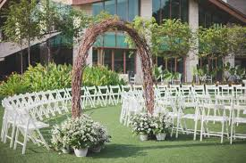 wedding arches singapore beautiful minimalist wedding at equarius hotel alain pris