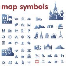 Weather Map Symbols Clip Art Map Symbols Clip Art