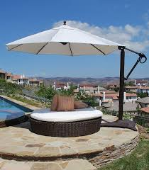 Large Cantilever Patio Umbrella How To Choose The Right Umbrella For Your Patio Luxury Pools