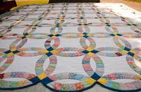 double wedding ring quilt pattern free u2014 marifarthing blog the