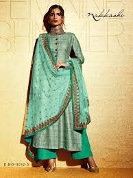 nakkashi bhagalpuri designer suit designer dress material