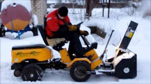 stiga park pro snow blower youtube