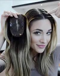 best clip in wig toppers for with thinning hair or hair loss