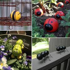 recycle used golf balls with this garden craft quibids