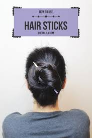 hair sticks how to use hair sticks