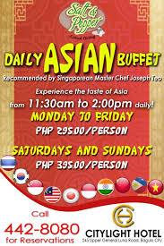 Eat All You Can Buffet by Eat All You Can Buffet At Salt U0026 Pepper Casual Dining Citylight