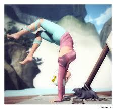 second life fashion from readmeri kitty yoga u2013 readmeri