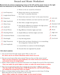 physics sound worksheet free worksheets library download and