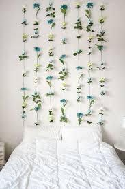 bedroom wall decor diy diy flower wall headboard home decor wall headboard diy