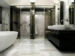 bathroom tv ideas marble bathroom pertaining to modern idea 11