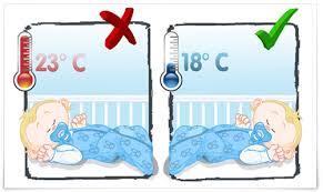 température de la chambre de bébé la technologie d aerosleep