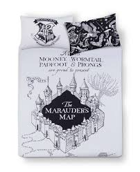 Map Bedding Primark Harry Potter Mono Double Bed Set Bedroom And Walk In