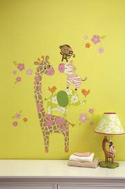 amazon com carter s jungle collection wall decals baby