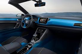 volkswagen crossblue interior volkswagen t roc concept is an suv convertible done right