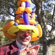 clown balloon l hire laughing clown in cape coral florida