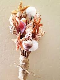 wedding bouquets with seashells how adorable diy shell bouquet shell crafts