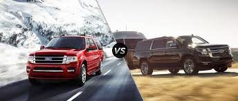 ford expedition interior 2016 ford expedition vs 2016 chevy suburban