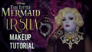 halloween makeup tutorial ursula the little mermaid inspired