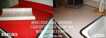 How To Fix Lifting Laminate Flooring Redo Your Ugly Laminate Countertops For Under 10 With Contact Paper