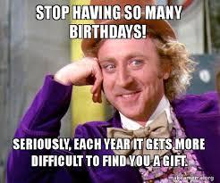 Birthday Gift Meme - happy birthday gift funny meme 2happybirthday