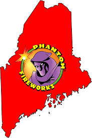 Portland Me Zip Code Map by Phantom Fireworks Locations Maine