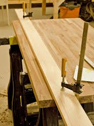 do it yourself butcher block kitchen countertop hgtv rout edges optional