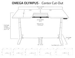 olympus standing desk