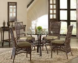 wicker dining room chair bora bora rattan dining room set from panama jack hospitality rattan