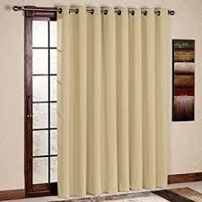 Do Insulated Curtains Work Amazon Com Rhf Wide Thermal Blackout Patio Door Curtain Panel