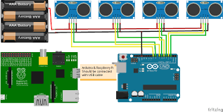 Arduino Map Smart Parking System Arduino Project Hub