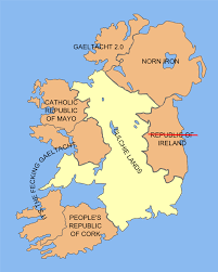 file political map of ireland culchie lands png uncyclopedia