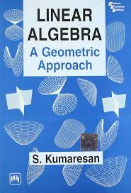 buy linear algebra a geometric approach book online at low prices