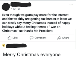it s not happy holidays it s merry to agree the
